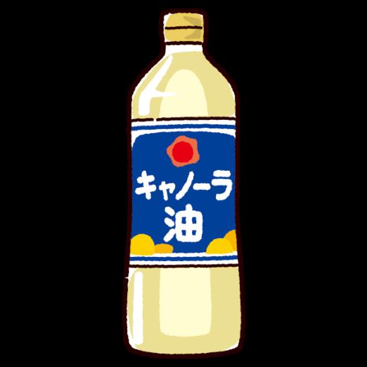 油のイラスト(キャノーラ油)