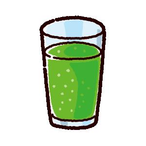 ジュースのイラスト(メロンソーダ)