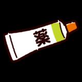 薬のイラスト(塗り薬)