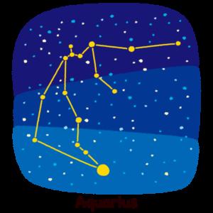 星座のイラスト(水瓶座)