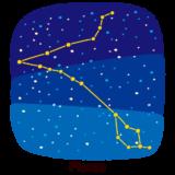 星座のイラスト(魚座)