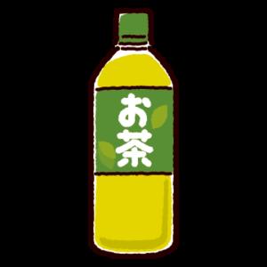 お茶のイラスト(ペットボトル)