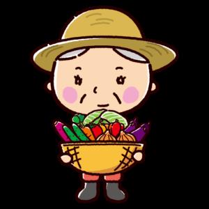 農家のイラスト(おばさん)