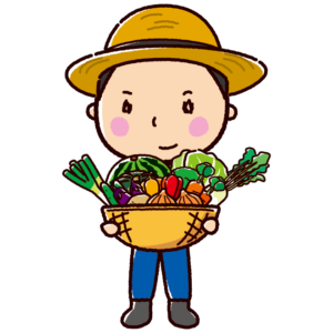 農家のイラスト(男性)