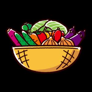 野菜のイラスト(盛合せ)
