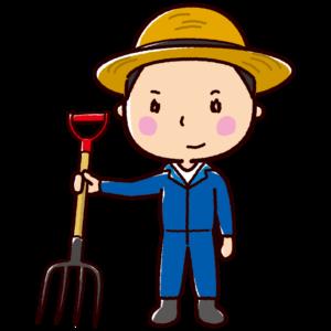 農家のイラスト(農業・男性)