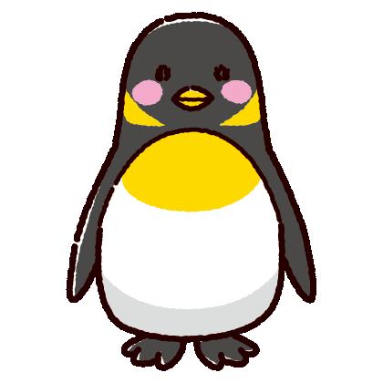 ペンギンのイラスト(3カラー)