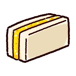 サンドイッチのイラスト(タマゴサンド)