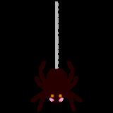 クモのイラスト(ハロウィン)