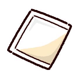 飲み薬のイラスト(粉薬)(2カラー)