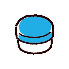 塗り薬のイラスト(軟膏)