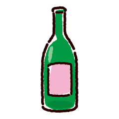 空き瓶のイラスト