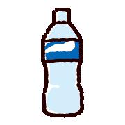 空のペットボトルのイラスト