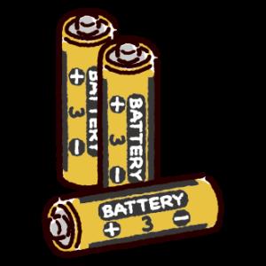 乾電池のイラスト(単三)