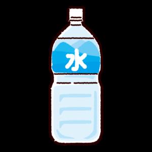 水のイラスト(ペットボトル)