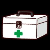 救急箱のイラスト(薬箱)