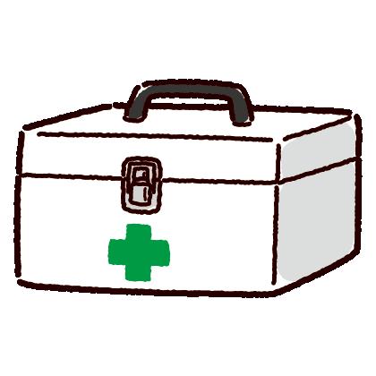 救急箱のイラスト(薬箱)(2カラー)