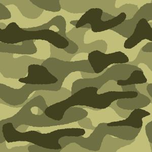 迷彩柄のイラスト(カモフラージュ)(4カラー)