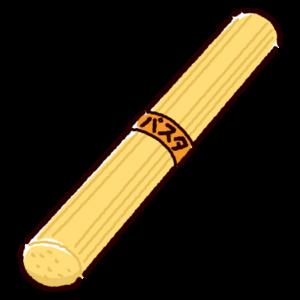 乾麺のイラスト(パスタ)