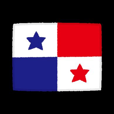 国旗のイラスト(パナマ共和国)(2カット)