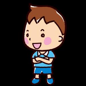 話すイラスト(会話・男の子)