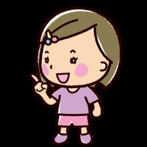話すイラスト(会話・女の子)
