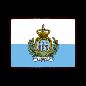 かわいいイラスト(サンマリノ共和国)