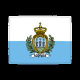 国旗のイラスト(サンマリノ共和国)