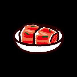キムチのイラスト