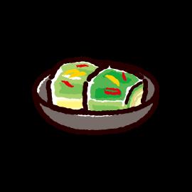 白菜漬けのイラスト
