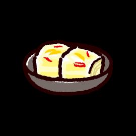 白菜漬けのイラスト(2カラー)