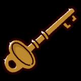 鍵のイラスト(アンティーク)