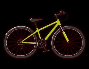 自転車のイラスト(マウンテンバイク)