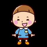 園児のイラスト(保育園/幼稚園・男の子)