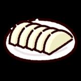漬物のイラスト(大根漬け)