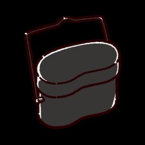 飯盒のイラスト
