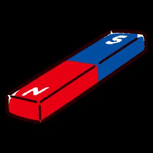 磁石のイラスト(I型)