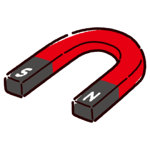 磁石のイラスト(U型)