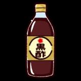 黒酢のイラスト
