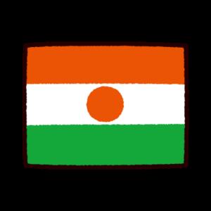 国旗のイラスト(ニジェール共和国)