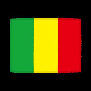 国旗のイラスト(マリ共和国)