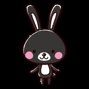 うさぎのキャラクターイラスト