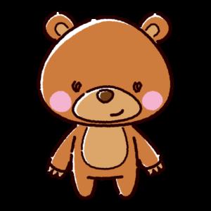 くまのキャラクターイラスト