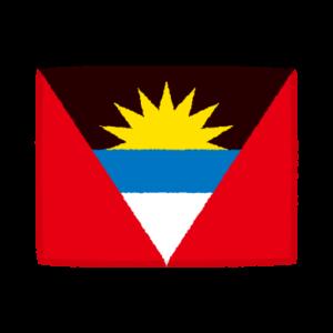 国旗のイラスト(アンティグア・バーブーダ)