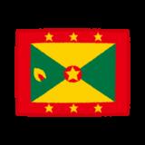 国旗のイラスト(グレナダ)