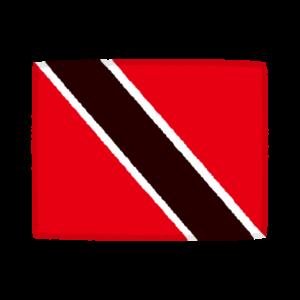 国旗のイラスト(トリニダード・トバゴ)