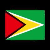 国旗のイラスト(ガイアナ共和国)