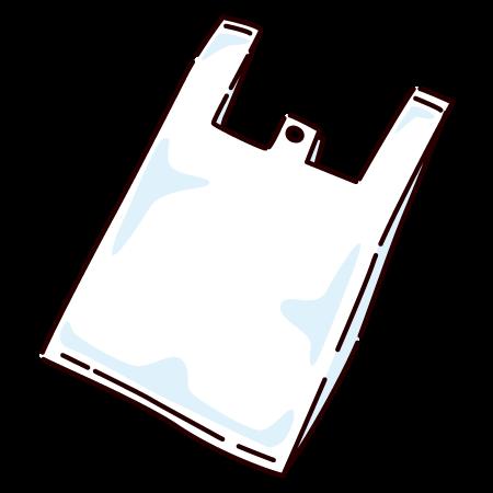 レジ袋(ポリ袋)(2カット)