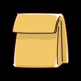紙袋のイラスト